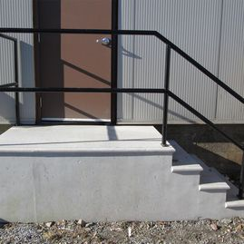 Concrete Stairs and Railing (Commercial and Residential)